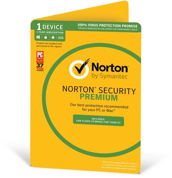 Norton Security Premium - 1 Device, 1 Year Subscription