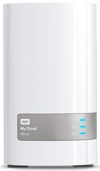 WD - WDBWVZ0040JWT - 4TB My Cloud Mirror (Gen 2)