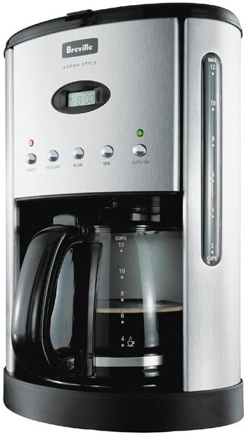 Breville Aroma Style Electronic Coffee Machine - BCM600