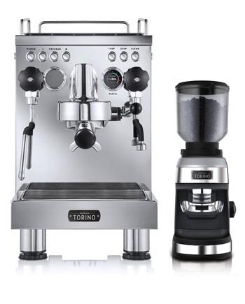 Sunbeam Torino Espresso Coffee Machine & Grinder - PU8000
