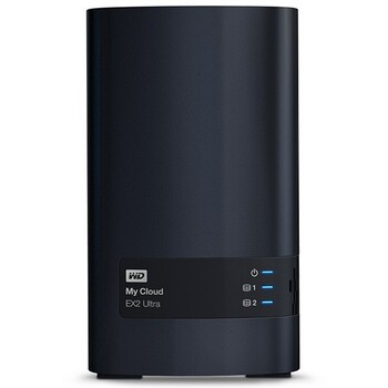 WD - WDBVBZ0120JCH - 12TB My Cloud EX2 Ultra