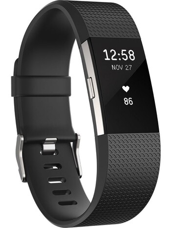 Fitbit Charge 2 Black - Large
