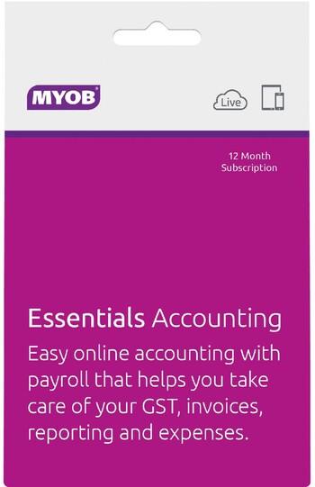 MYOB - Essentials Accounting - Unlimited Payroll - 12mth Suscription