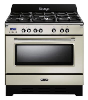 DeLonghi - DEFV908CR - 90cm Vintage Cooker