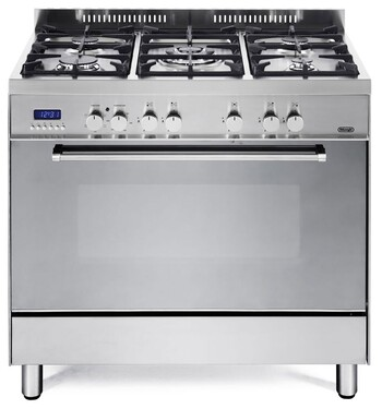 Delonghi 90cm Freestanding Oven with Gas Cooktop