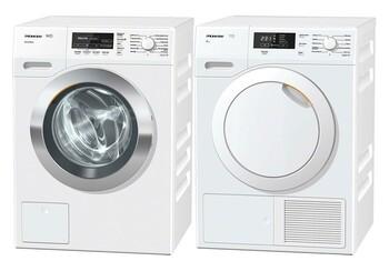 Miele - WKF130+TKB350W - Washer & Dryer Package