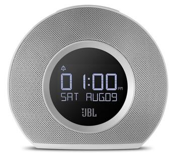 JBL - JBLHORIZONWHTEU - Bluetooth®  Clock Radio - White
