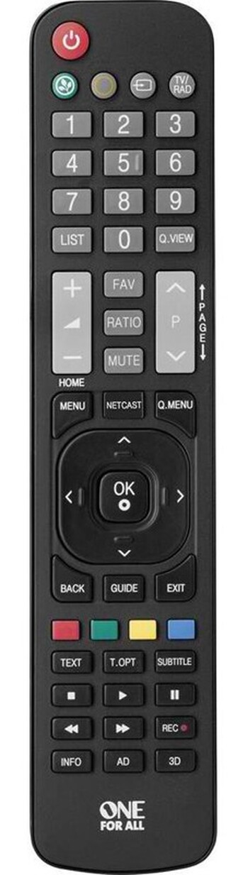 One For All - URC 1911 - LG Replacement Remote