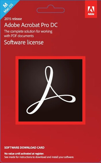 Adobe - Acrobat Professional DC Mac - Commercial Edition