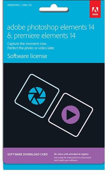 Adobe - Photoshop & Premiere Elements 14 - Commercial
