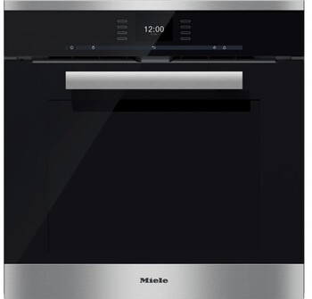 Miele - H 6660 BP - CleanSteel - 60CM Pyrolytic Built-in Wall Oven