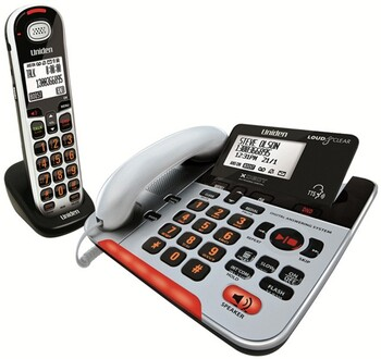 Uniden - SS E37 + 1 - Visual & Hearing Impaired Corded Phone