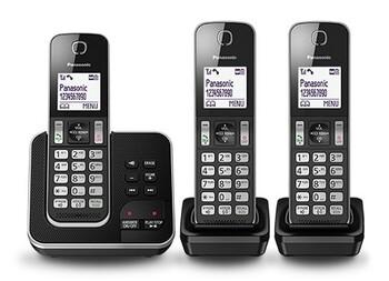 Panasonic - KX-TGD323ALB - Digital Cordless Phone System