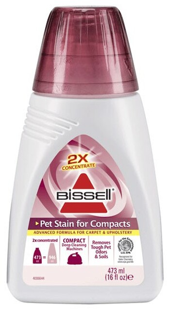 Bissell - 74R7E - 2X Pet Stain for Compacts Formula