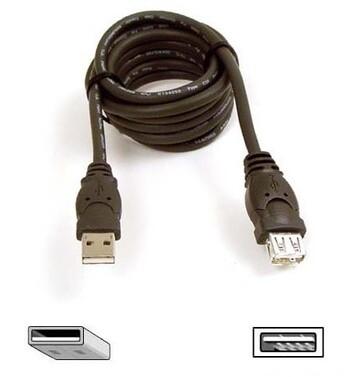 Belkin - F3U134-10 - 3m USB 2.0 Extension Cable