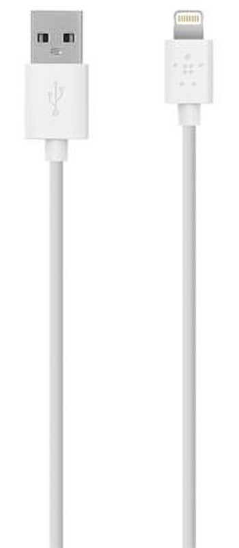 Belkin - F8J023bt04-WHT - MIXIT Lightning to USB ChargeSync Cable - 1.2m