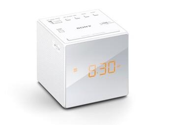 Sony Single Alarm Clock - White