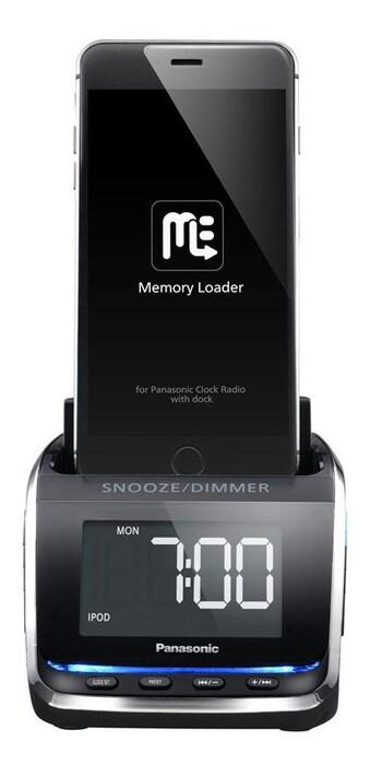 Panasonic Docking Clock Radio
