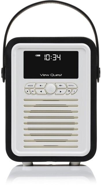 VQ - Retro Mini DAB+ Radio - VQ-MINI-BK - Black