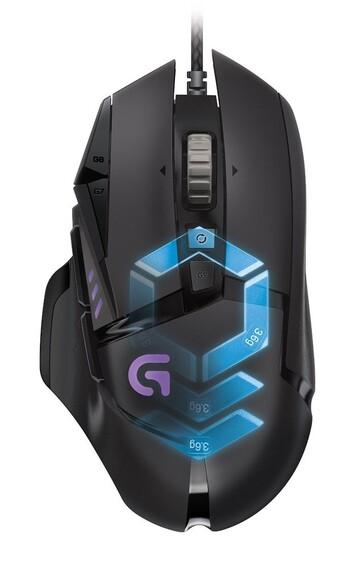 Logitech - 910-004633 - G502 RGB Gaming Mouse