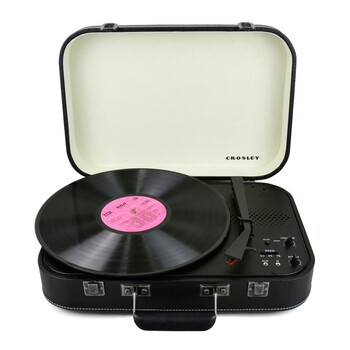 Crosley - CR6026A-BK - Coupe Bluetooth Turntable Black