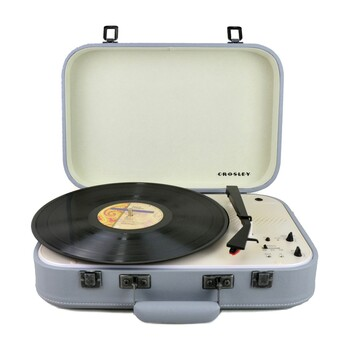 Crosley - CR6026A-GY - Coupe Bluetooth Turntable Grey