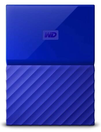 WD - 4TB My Passport - Blue - WDBYFT0040BBL