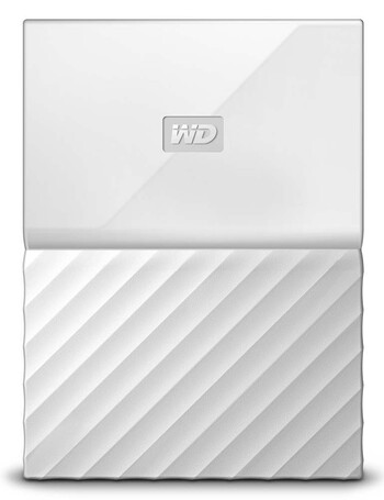WD - 4TB My Passport - White - WDBYFT0040BWT