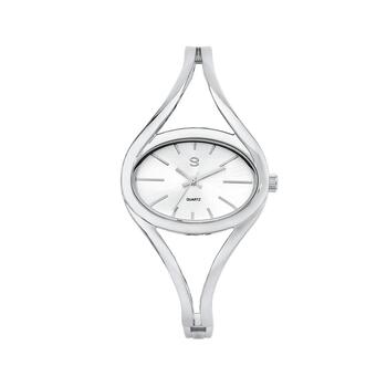 G Ladies Silver Tone Watch