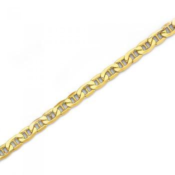 9ct Gold 26cm Marine Anklet