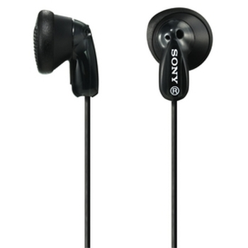 In Ear Black Headphones