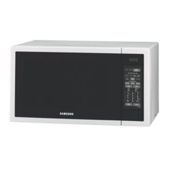 40L 1000W White Microwave
