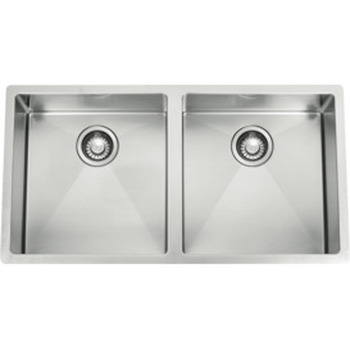 Plaza Double Bowl Sink