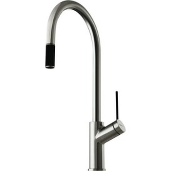 Chrome Vilo Pull Out Mixer