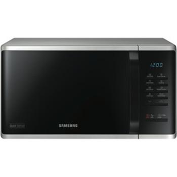 23L 800W Silver Microwave