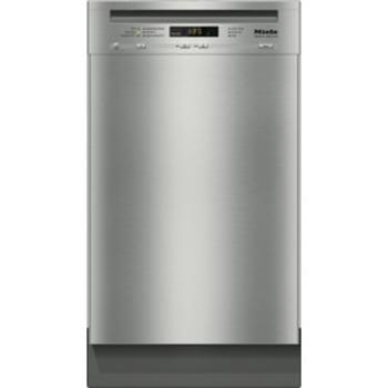 Clean Steel Built Under Dishwasher