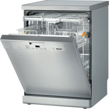 Clean Steel Freestanding Dishwasher