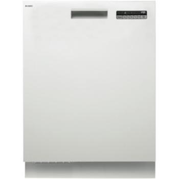 White Built In Dishwasher