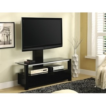 TV Cabinet 1200mm Black