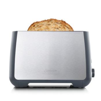 Long Slot Toaster 2 Slice - Stainless Steel