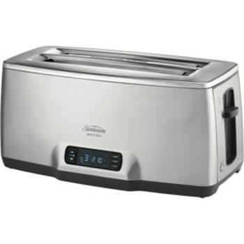 Maestro 4 Slice Toaster - Stainless Steel