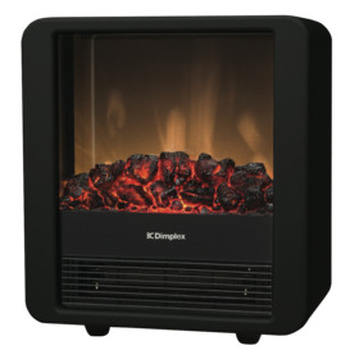 1500W Mini-Cube Blk Flame Effect Heater