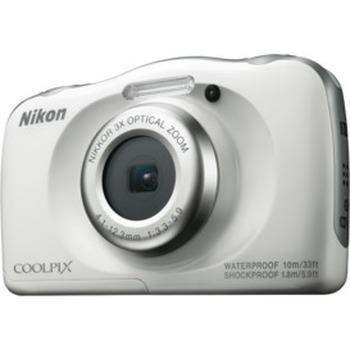 Coolpix W100 White Digital Camera
