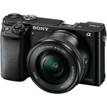 A6000 Mirrorless Camera with 16-50mm Lens