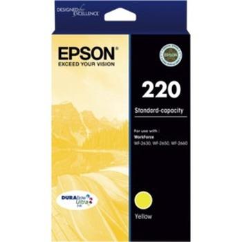 220 Std Capacity DURABrite Ultra Yellow Ink Cartridge