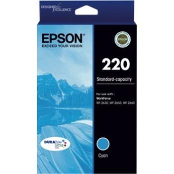 220 Std Capacity DURABrite Ultra Cyan Ink Cartridge