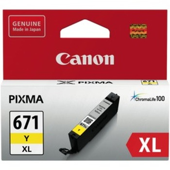 CLI671XLY Yellow Extra Large Ink Cartridge