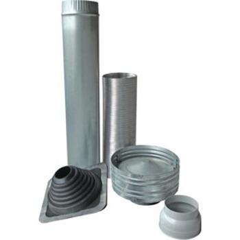 Rangehood Ducting Kit For Metal Roof