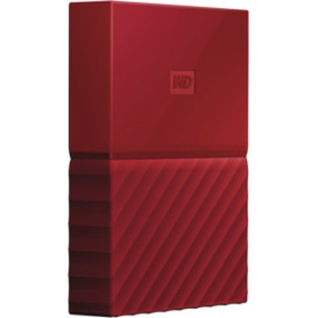 4TB My Passport Portable HDD Red