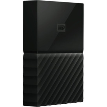 4TB My Passport Portable HDD Black